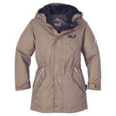 Jack Wolfskin Girls 5th Avenue coriander - Größe 116 Kinder 1600251
