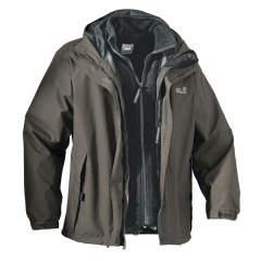 Jack Wolfskin Iceland Men olive brown - Gr&#246;&#223;e M 11619