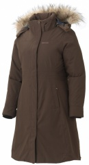 Marmot Womens Chelsea Coat dark brown - Größe M 77670