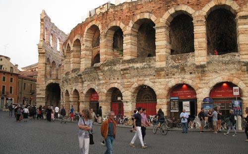 Altstadt in Verona