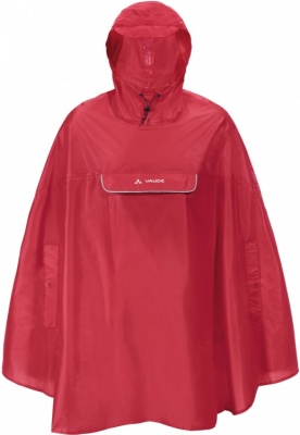 VAUDE Valdipino Poncho VAUDE Valdipino Poncho Farbe / color: red ()