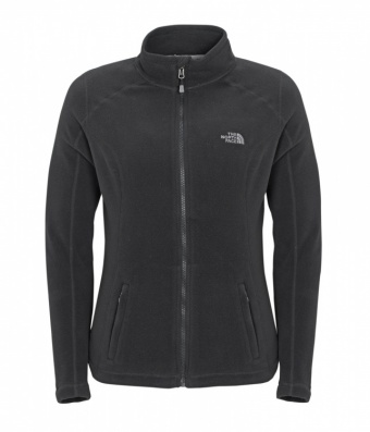 The North Face Womens 100 Glacier Full Zip The North Face Womens 100 Glacier Full Zip Farbe / color: tnf black JK3 ()