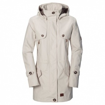 Jack Wolfskin Queenstown Coat Women Jack Wolfskin Queenstown Coat Women Farbe / color: white sand ()