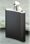 Relags hip flask leather
