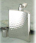 Relags hip flask hammer blow design