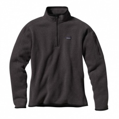 Patagonia Womens Better Sweater 1/4-Zip Farbe / color: condor grey 817 (Zoom)