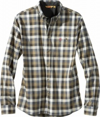 Fjällräven Pilosa Shirt Farbe / color: black brown 291 (zoom)