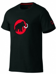 Mammut Logo Shirt Farbe / color: black 0001 (Zoom)
