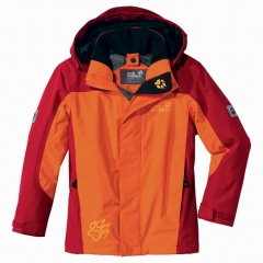 Jack Wolfskin Kids Exposure Jacket Farbe / color: dark orange 2380 (zoom)