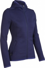 Icebreaker Realfleece 320 Igloo Hood Women Farbe / color: astral E87 (Zoom)
