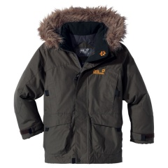 Jack Wolfskin Kids Arcturus Parka XT Farbe / color: olive brown 7010 (Zoom)