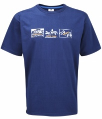 Mountain Equipment Redline Tee Farbe / color: navy blue/white/russet print 408 (Zoom)