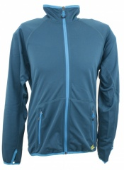 Adidas ED 1sd Fleece Jacket Farbe / color: power green/sharp blue (Zoom)