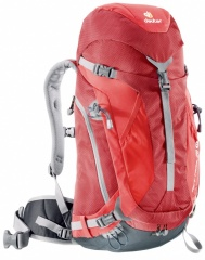 Deuter ACT Trail 28 SL Farbe / color: cranberry-fire 5560 (zoom)