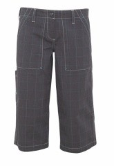 Chillaz Womens Berivan 3/4 Pant Farbe / color: glencheck stripes (Zoom)