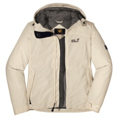 Jack Wolfskin Lakeview Jacket Women Farbe / color: white sand 5017 (Zoom)