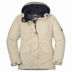 Jack Wolfskin Queens Jacket Women Farbe / color: ivory 4660 (zoom)