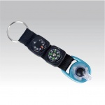 Munkees LED Multipurpose Key Fob with Compass, Thermometer, Keyri...