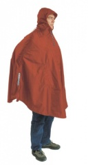 Exped Daypack-Poncho Farbe / color: terracotta (zoom)