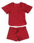 Cocoon Adventure Nightwear 100% Egyptian Cotton Shirt and Short