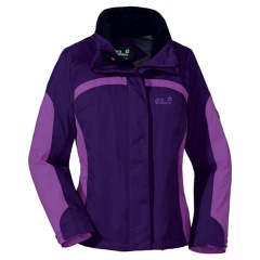 Jack Wolfskin Topaz Jacket Women Farbe / color: purple night 2117 (Zoom)