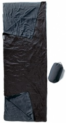 Cocoon Outdoor Blanket, 220x80cm koppelbar Farbe / color: black/slate blue (Zoom)