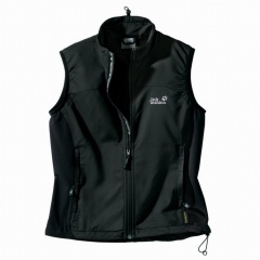 Jack Wolfskin Activate Vest Women Farbe / color: black 600 (Zoom)