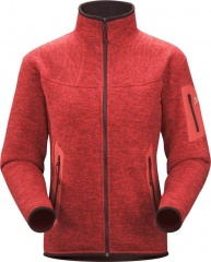 Arc'teryx Womens Covert Cardigan Farbe / color: cherry pepper (zoom)