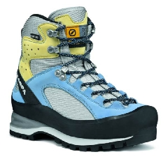 Scarpa Cristallo GTX Lady Farbe / color: silver/fresh blue (Zoom)