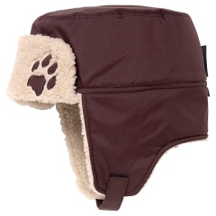 Jack Wolfskin Kids Stormlock Shapka Farbe / color: mocca 5200 (zoom)
