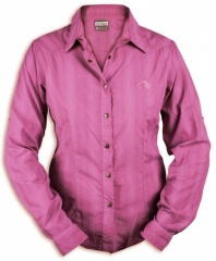 Tatonka Salto Womens Long Sleeve Shirt Farbe / color: berry 146 (zoom)