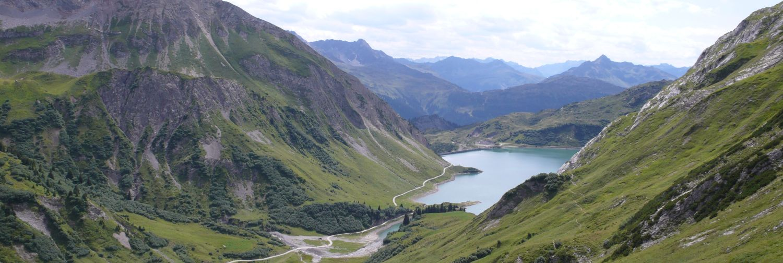 Bergpanorama der Lechquellenrunde