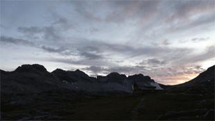 Goeppinger Huette als Teil der Lechquellenrunde