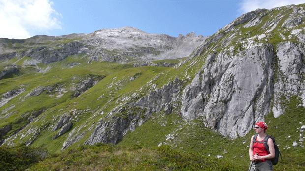 Wandern von Hütte zu Hütte im Lechquellengebirge