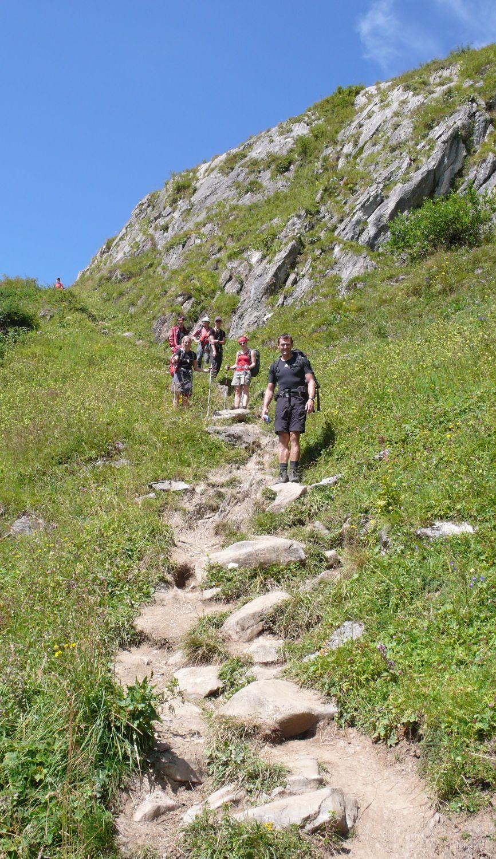 Lechquellenrunde - Wanderweg