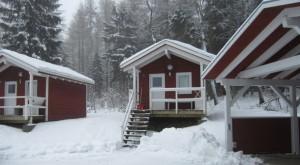 Camping im Harz - Hütte