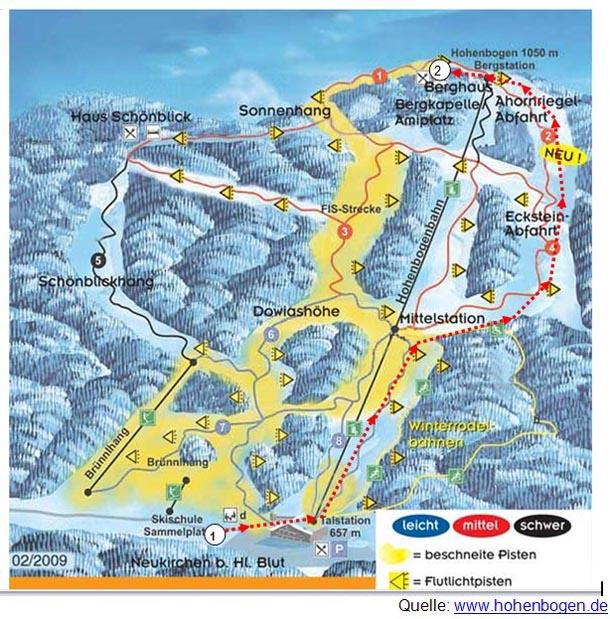 HOBOpur - Tourkarte