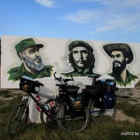 Radrundreise durch Kuba mit den Minimulis und dem Elch