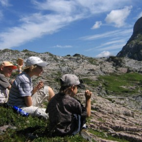 Mit Kindern in den Bergen unterwegs