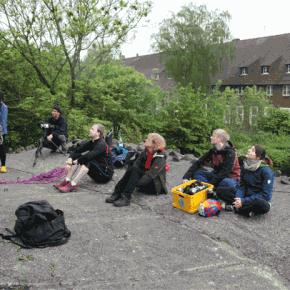 Kletterschulung der Unterwegs Mitarbeiter Wilhelmshaven