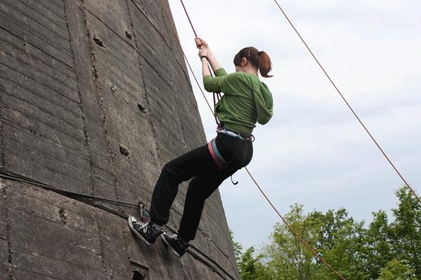 Abseilen Ohne Klettergurt : Kletterschulung bei unterwegs die praxis elchblog hier bloggt