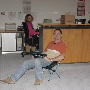 Helinox Chair One - Der etwas andere Chefsessel