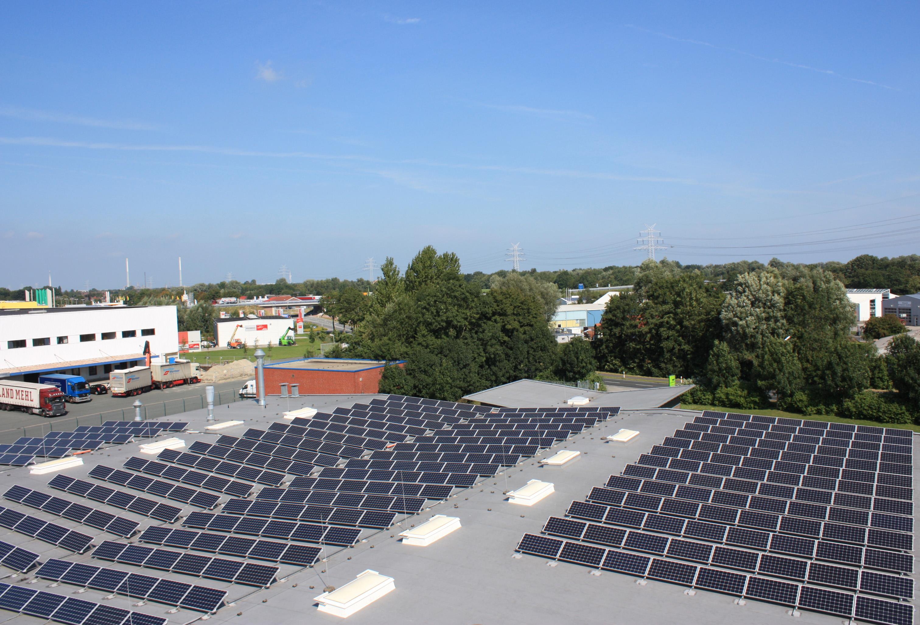Photovoltaik bei Unterwegs