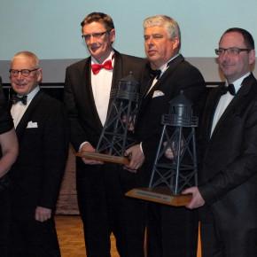 Unterwegs bei der 11. Unternehmer Gala - Ehrung zum Unternehmer des Jahres 2012