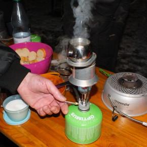 Kleine Kocherschulung bei Unterwegs in Wilhelmshaven