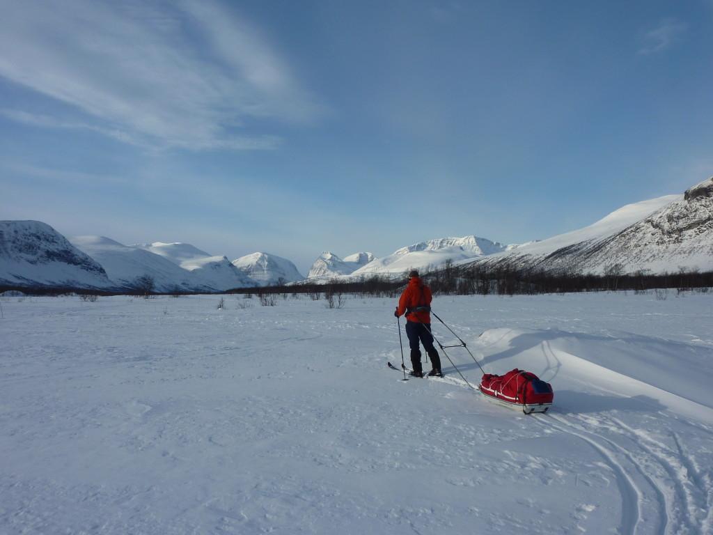 Ideales Gebiet für Skitouren