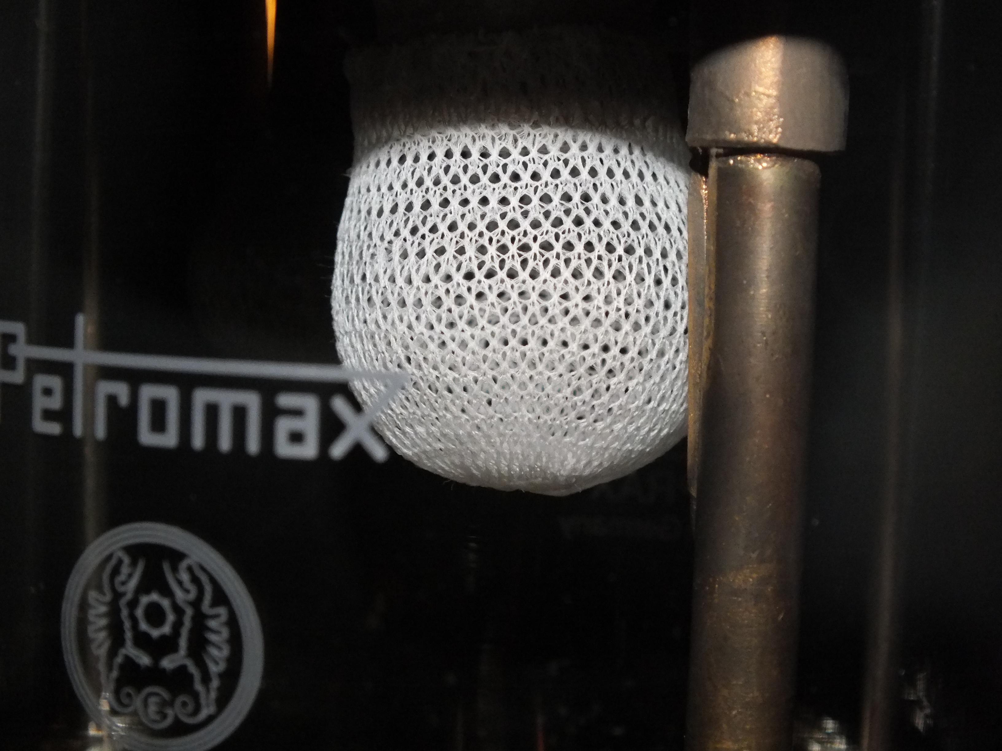 Glühstrumpf der Petromax Starklichtlampe