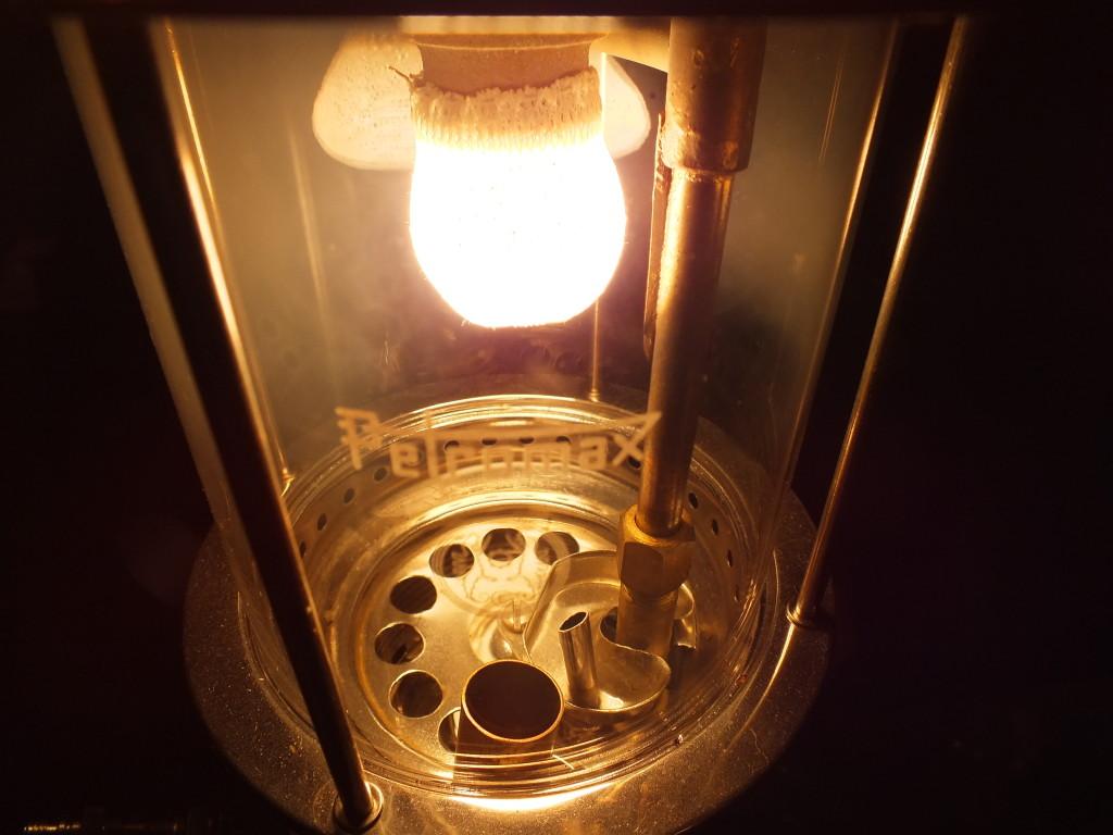 Petromax Starklichtlampe