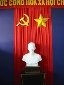 """""""Uncle Ho"""" im Gewerkschafts- und Versammlungsraum"""