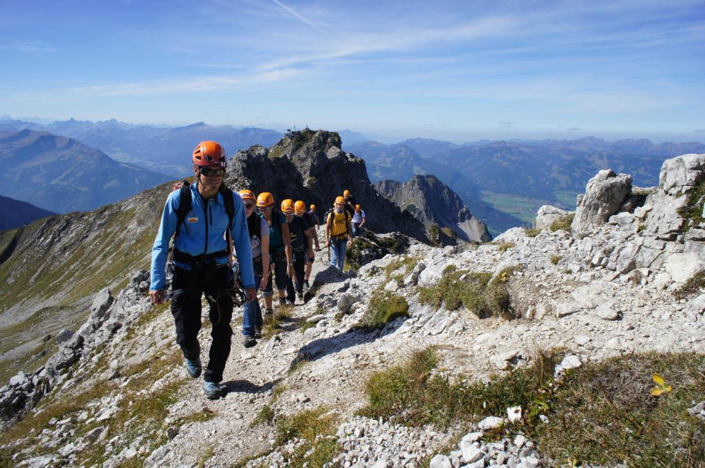 Klettersteigtour gewinnen